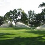Adriatic Golf Club di Cervia sistema irrigazione in funzione (9)