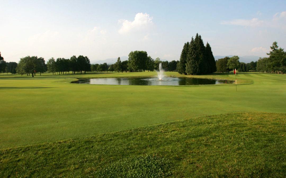 Primi collaudi per l'irrigazione del Golf Club Monticello
