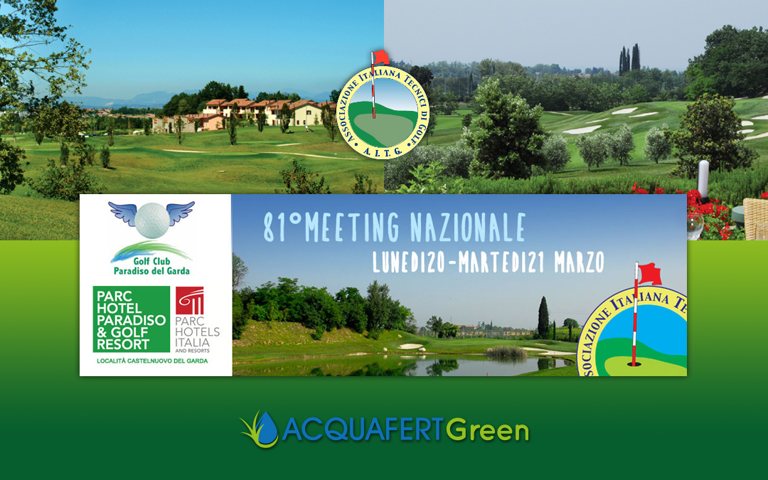 Incontra ACQUAFERT GREEN all'81° meeting AITG