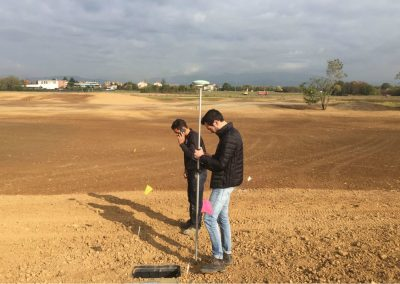 Golf Camuzzago picchettatura