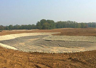 Impermeabilizzazione del lago artificiale del Golf Borgo di Camuzzago
