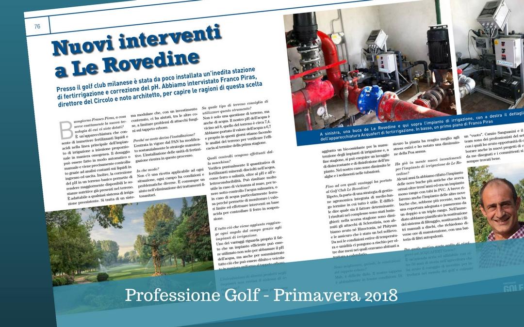 Nuovi interventi a Le Rovedine