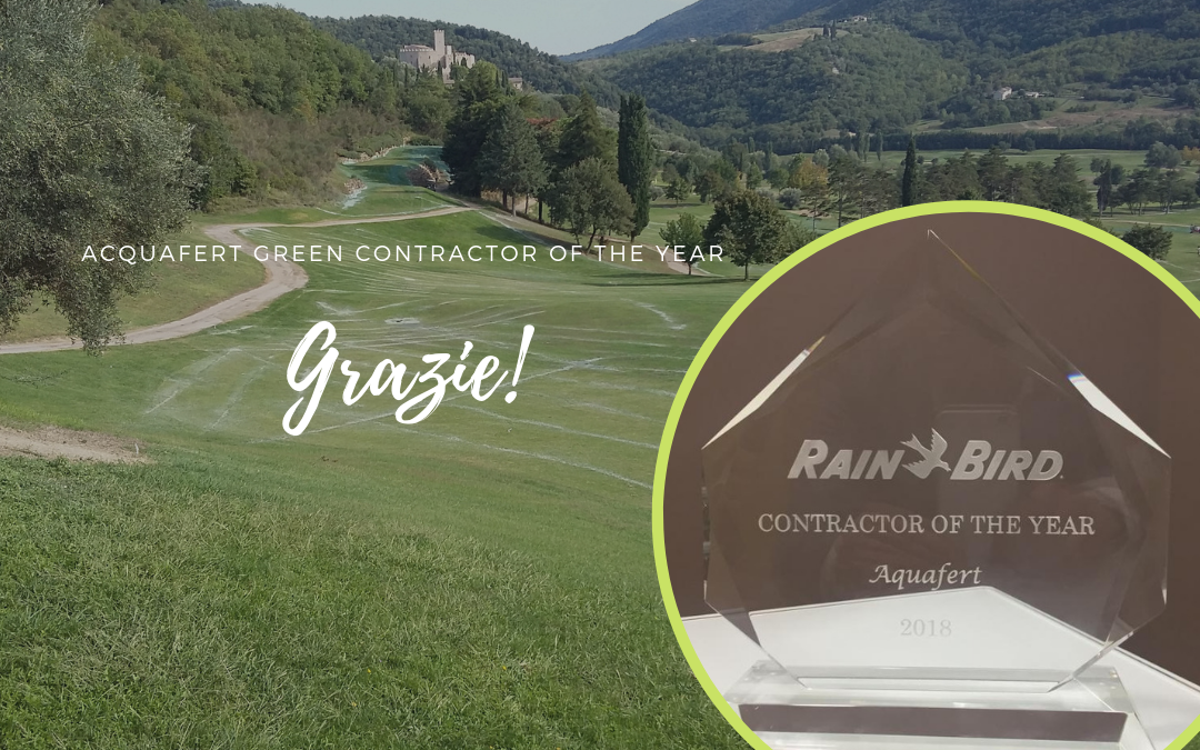 Contractor of The Year, grazie a Rain Bird!