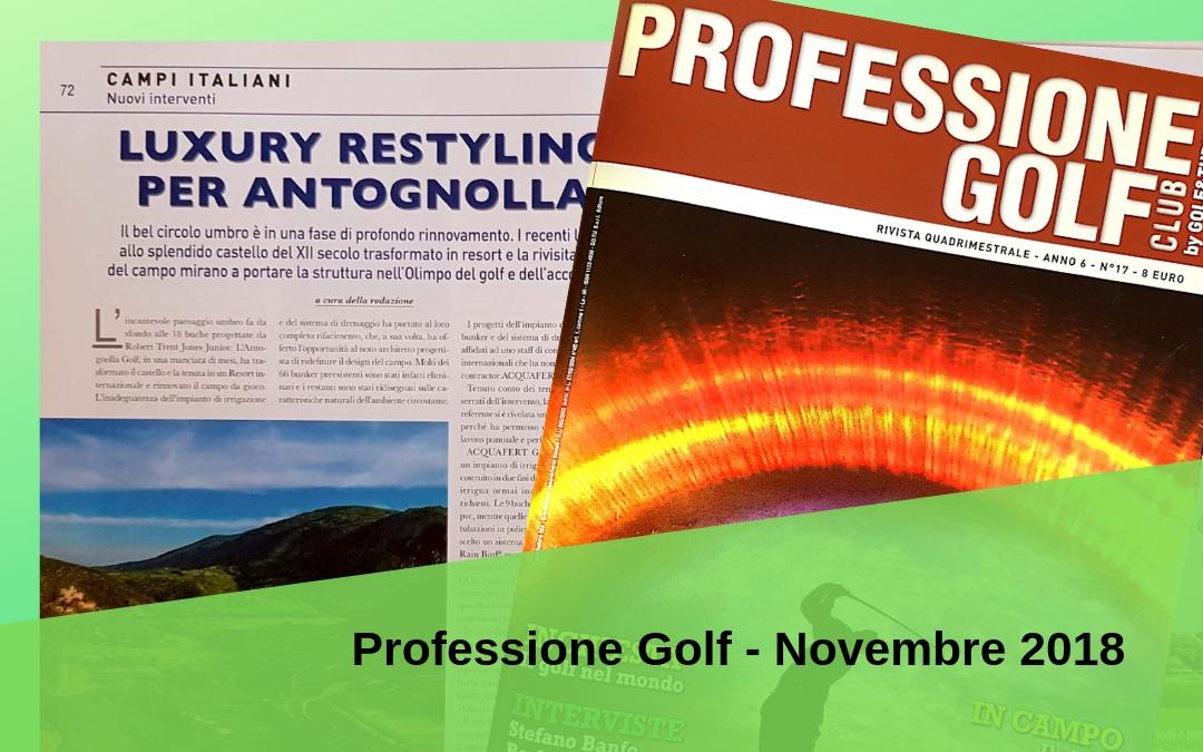 Professione Golf Club - Novembre 2018